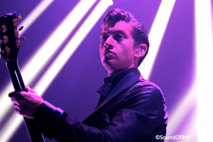 Arctic Monkeys en concert au Zénith de Paris le 7 novembre 2013