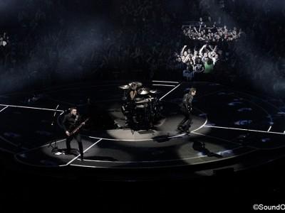Muse en concert à l'AccorHotel Arena, Paris, le 29 février 2016