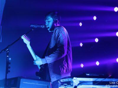 Eden en concert aux Étoiles, à Paris, le 26 novembre 2016
