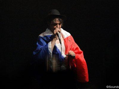 Pete Doherty en concert au Bataclan, le 16 novembre 2016
