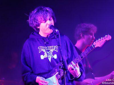 Rat Boy en concert au Inrocks Festival, à La Cigale, à Paris, le 19 novembre 2016