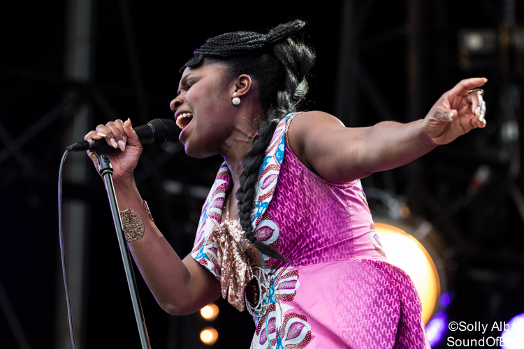 Ibibio Sound Machine au festival Art Rock, le 03/06/2017