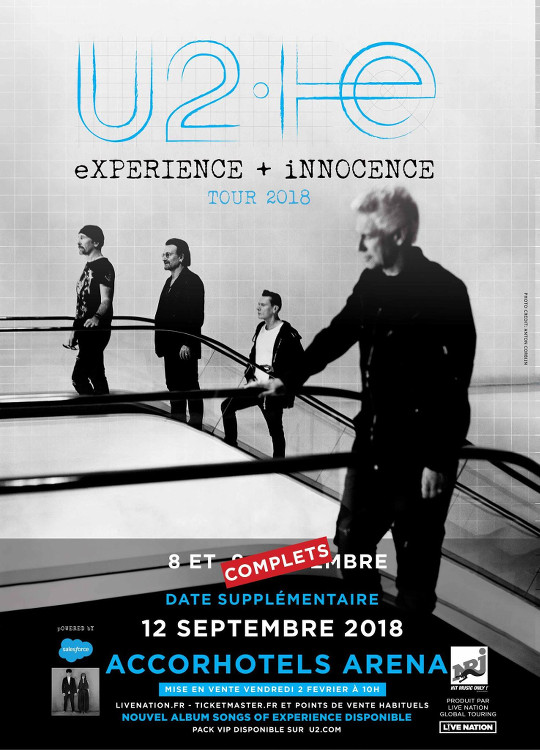 U2 AccorHotels Arena