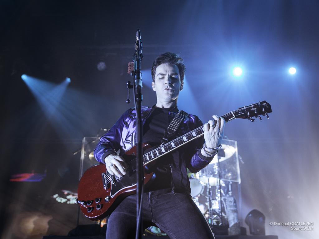 STEREOPHONICS en concert à l'Olympia, à Paris, le 26 janvier 2018