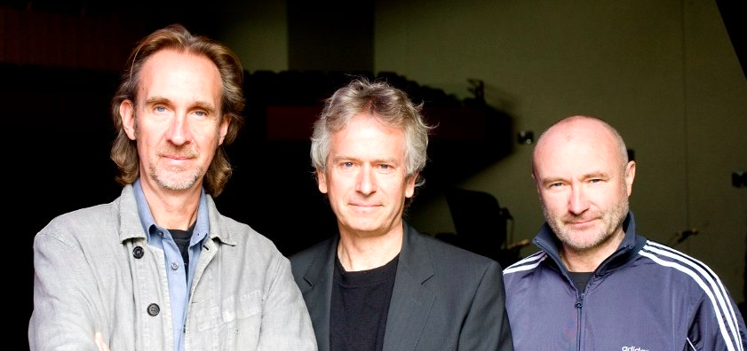 Genesis Phil Collins, Mike Rutherford, Tony Banks