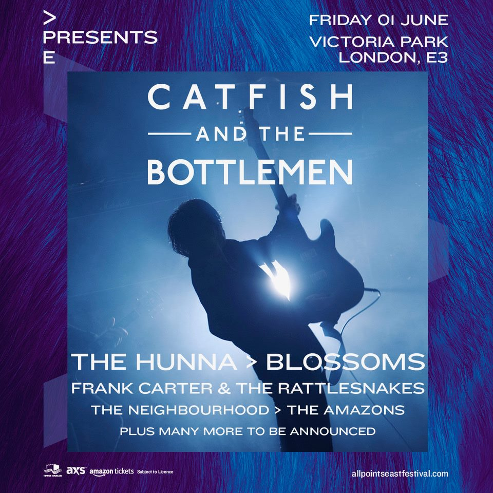 Catfish and the Bottlemen - All Points East Festival