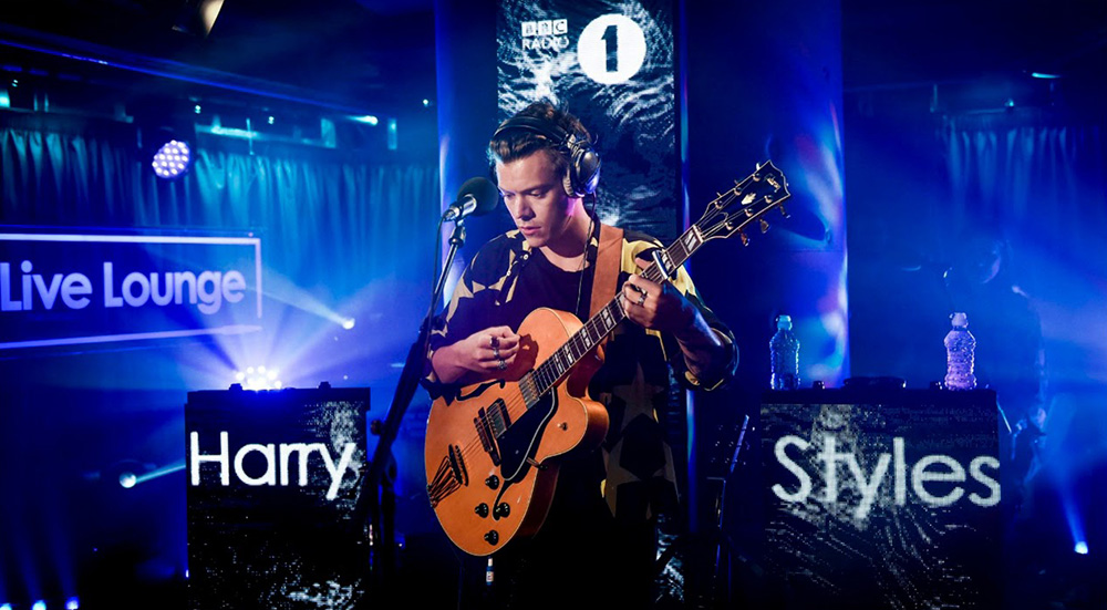 Harry Styles BBC radio 1