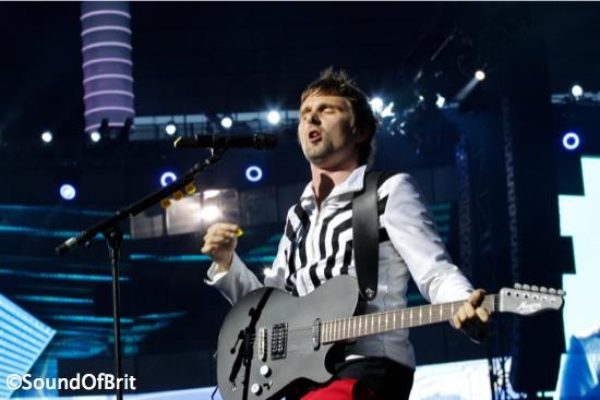 Muse au Stade de France, le 21 juin 2013