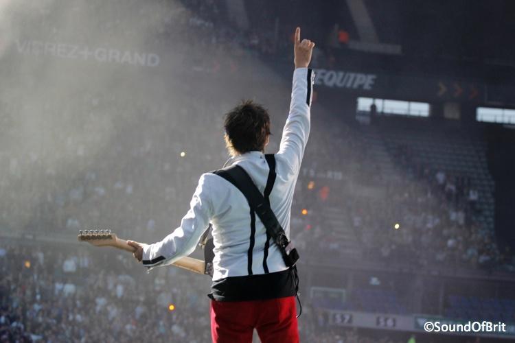 Muse au Stade de France, le 22 juin 2013