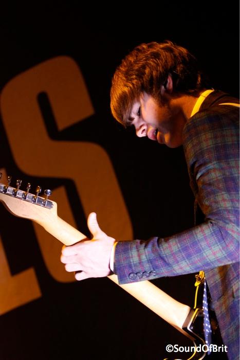 The Strypes en concert au Zénith de Paris le 7 novembre 2013