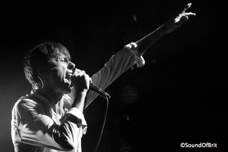 Suede en concert à La Cigale, Paris, le 11 novembre 2013