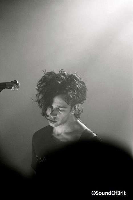 The 1975 en concert au Trabendo, Paris le 22 février 2014