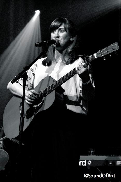 Liz Green en concert au 104, pour le festival Les Femmes s'en mêlent, Paris, le 21 mars 2014