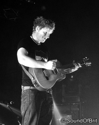 Ed Sheeran (Lille, 19.11.12) © Sound Of Britain