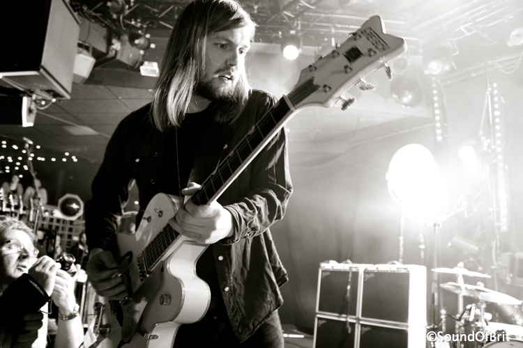 Band Of Skulls en concert au Trabendo, Paris, le 3 avril 2014