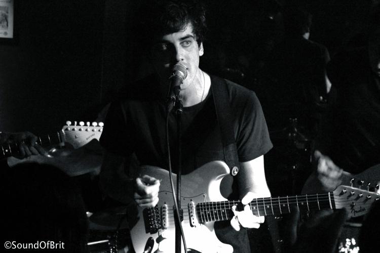 Circa Waves en concert au Truskel, Paris, le 17 avril 2014