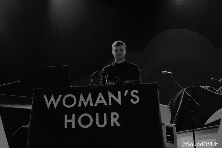 Woman's Hour en concert au Zenith de Pairs, le 28 avril 2014