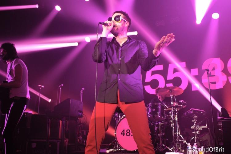 Kasabian en concert au Bataclan, Paris, le 30 avril 2014
