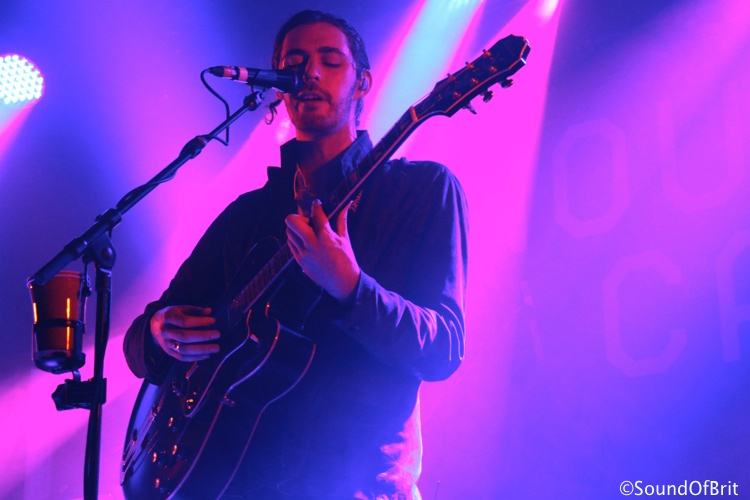 Hozier en concert au Nouveau Casino, Paris, le 11 juin 2014