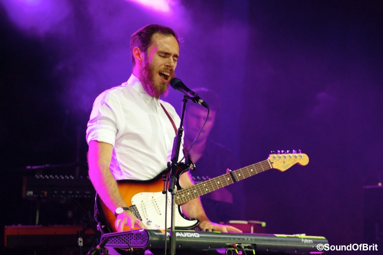 James Vincent McMorrow à Solidays 2014, le 27 juin