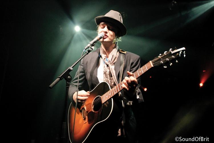Peter Doherty en concert à la Flèche d'Or, Paris, le 28 aout 2014
