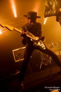 The Bohicas en concert à La Boule Noire, Paris, Festival les inRocKs Philips, le 14 novembre 2014