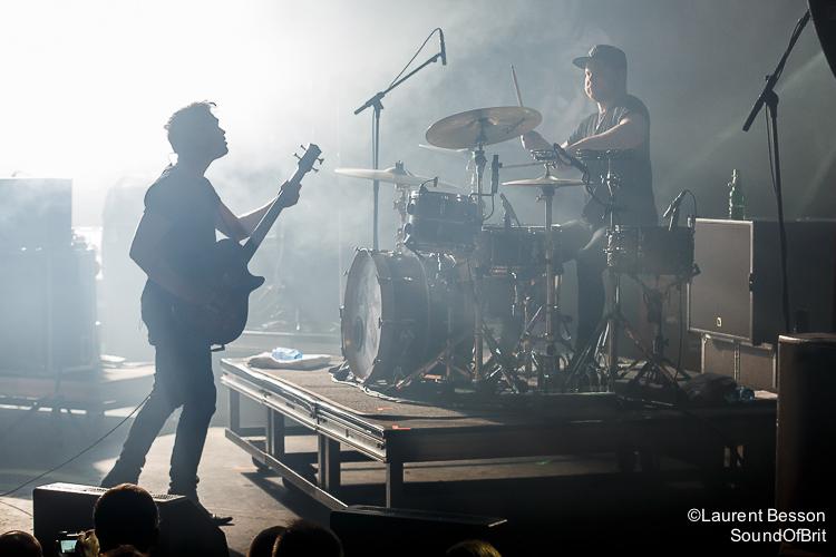 Royal Blood en concert à La Cigale, Paris, Festival les inRocKs Philips, 16 novembre 2014