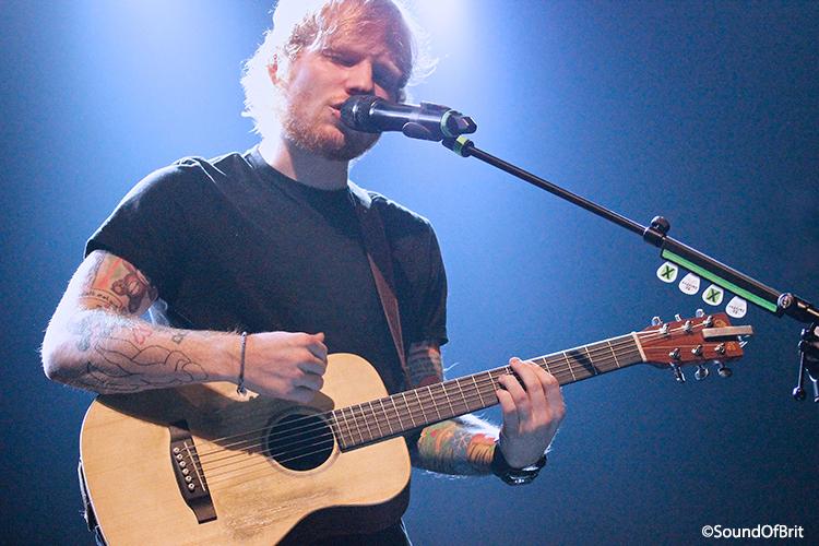 Ed Sheeran en concert au Bataclan le 27 novembre 2014