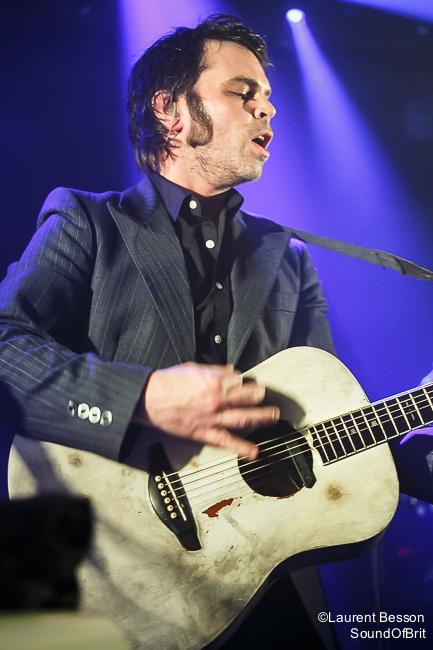 Gaz Coombes en concert à La Maroquine, Paris, le 18 février 2015