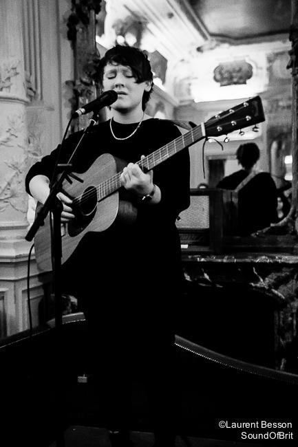 SOAK en concert au Carmen à Paris, Festival Fireworks, le 23 février 2015