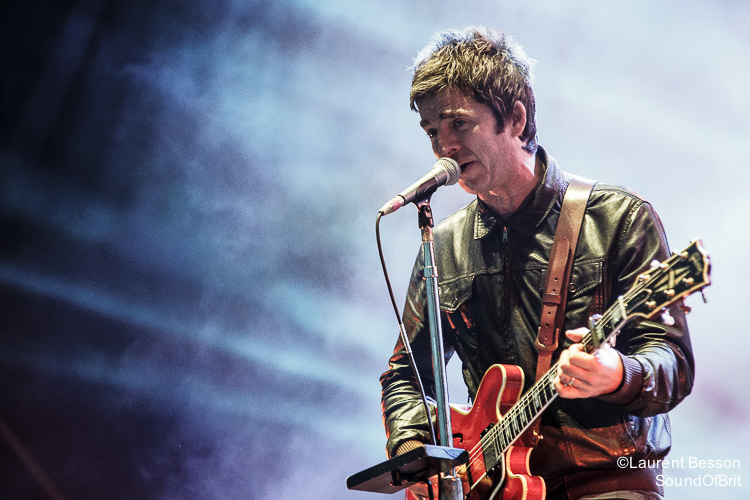 Noel Gallagher's High Flying Birds en Concert au OÜI FM Festival le 23 Juin 2015