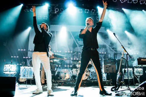 FFS en concert à X-Tra, à Zurich, le 2 septembre 2015
