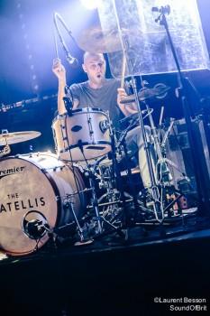 The Fratellis en concert au Trabendo le 27 Octobre 2015