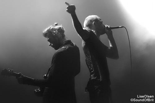 Heymoonshaker en concert à La Cigale, MaMA festival, Paris, le 16 octobre 2015