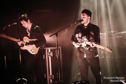 The Maccabees en concert à la Cigale le 29 Janvier 2016