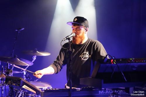 Jack Garratt en concert à La Maroquinerie, Paris, le 17 mai 2016