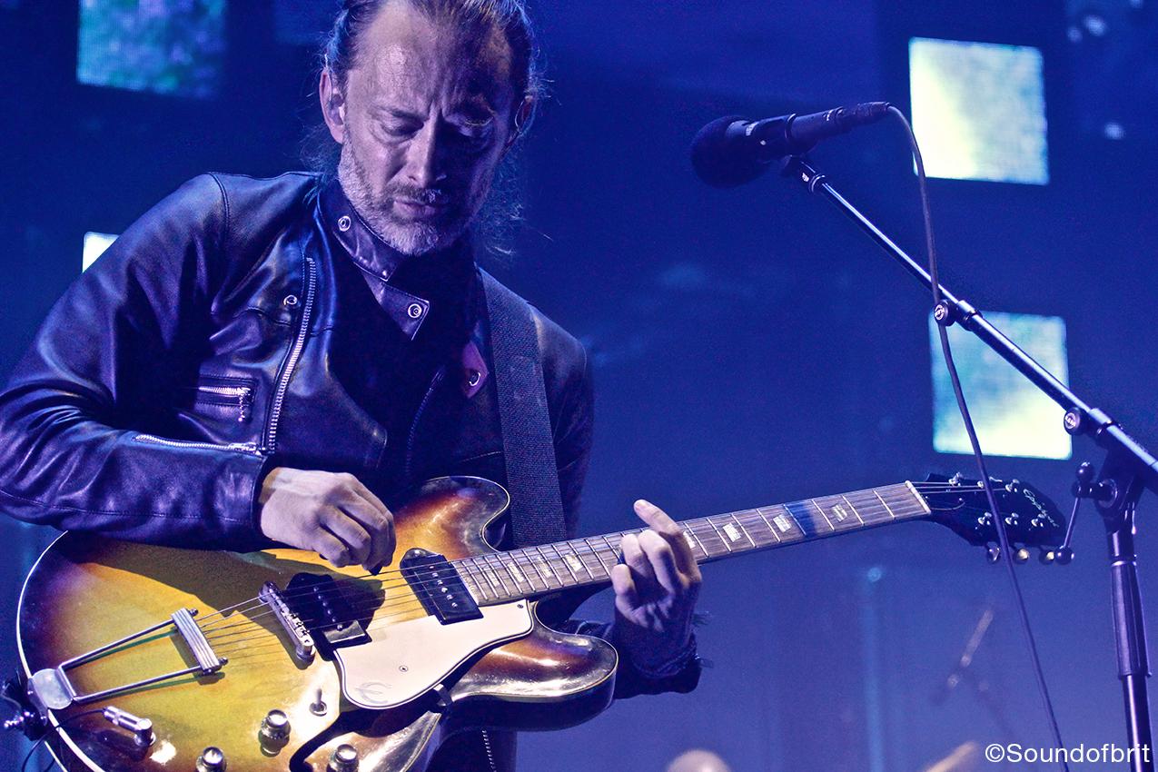 Radiohead en concert au Zénith de Paris le 23 mai 2016