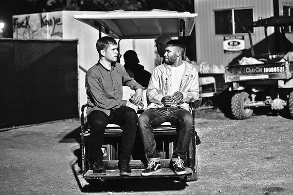 James Blake and Frank Ocean