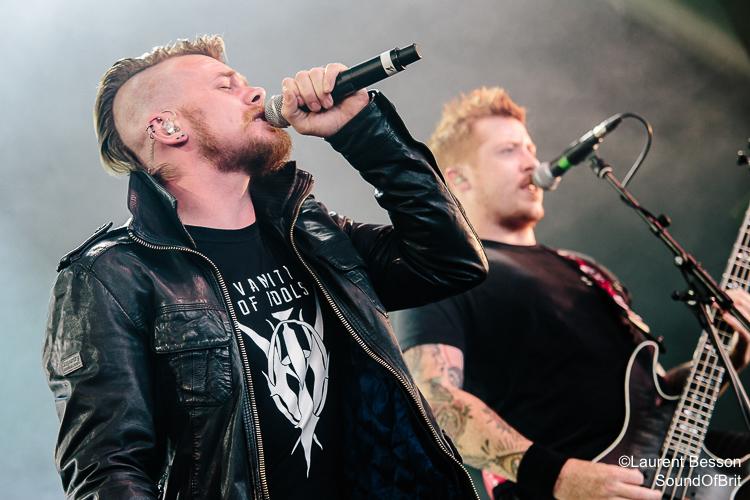The Raven Age en concert au Download Festival Paris le 10 Juin 2