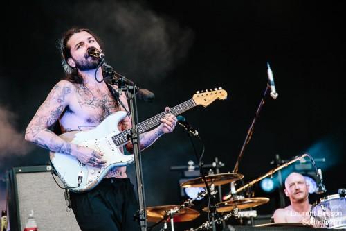 Biffy Clyro en concert au Download Festival Paris le 11 Juin 201