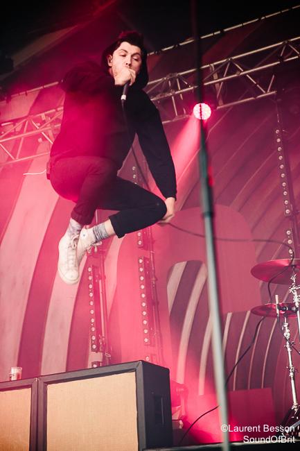 Twin Atlantic en concert au Download Festival Paris le 11 Juin 2