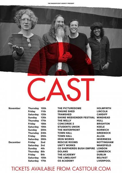 cast tour