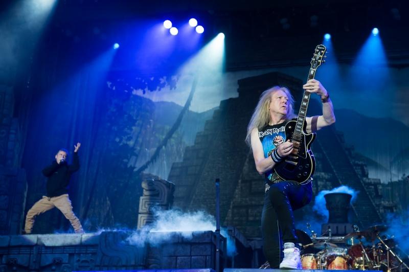 Iron Maiden au Paléo, par Lionel Flusin