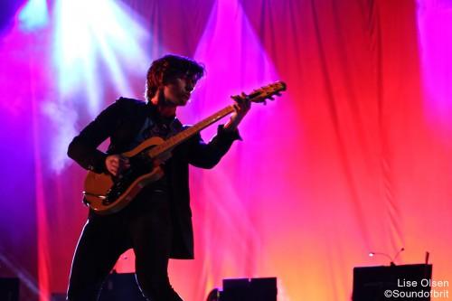 The Last Shadow Puppets en concert au Festival Rock en Seine, Domaine National de Saint-Cloud, le 26 août 2016