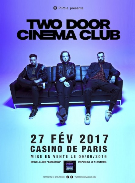 Two door cinema club casino de paris