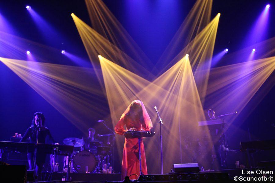 Bad For Lashes au Pitchfork Festival, la Villette, Paris, le 28 octobre 2016