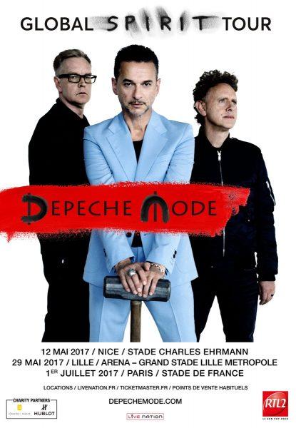Depeche Mode Global Spirit tour 2017