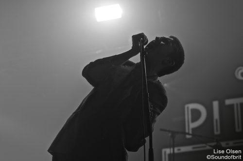 Shame au Pitchfork Festival, la Villette, Paris, le 29 octobre 2016