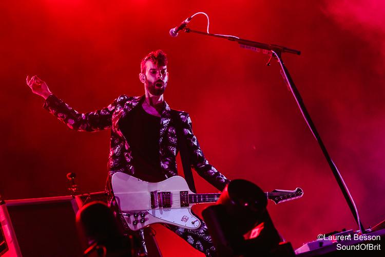Placebo en concert à l'AccorHotel Arena le 29 Novembre 2016