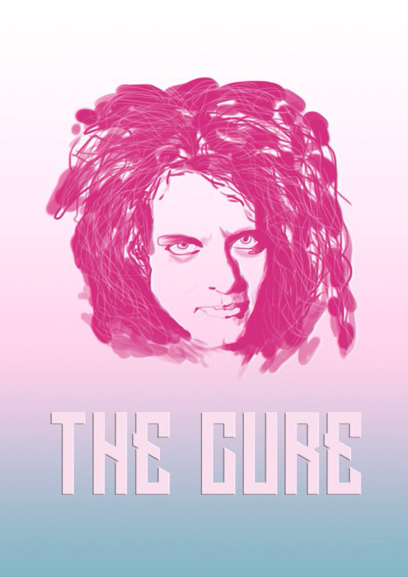 The Cure SoundofBrit Illustration